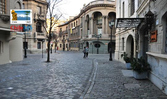 Barrio par s londres santiago de chile atractivos de for Calles de santiago de chile