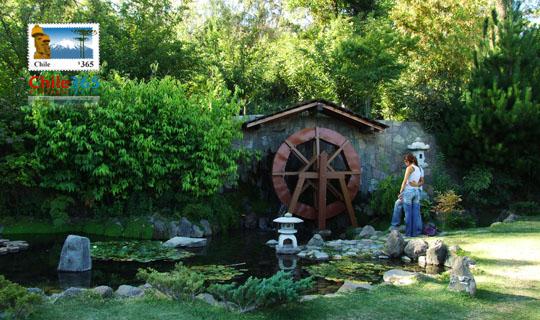 Cerro san cristobal santiago de chile atractivos de santiago for Jardin japones de santiago