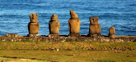 Isla de Pascua. Parque Nacional Rapa Nui