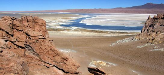 Salar de Tara. Reserva Nacional los Flamencos. San Pedro de Atacama