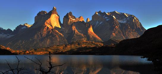 Parque Nacional Torres del Paine. XII, 12 Region de Magallanes. Patagonia, Chile